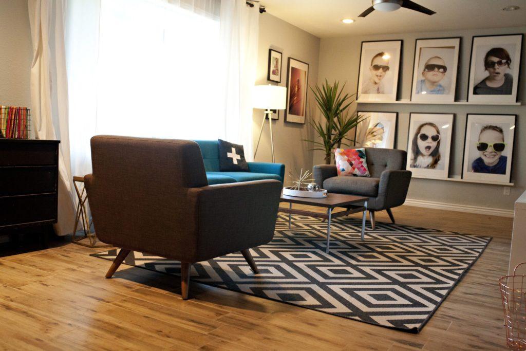 tapis design intérieur